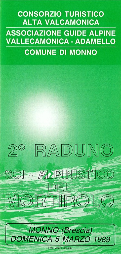 1989 2° raduno locandina